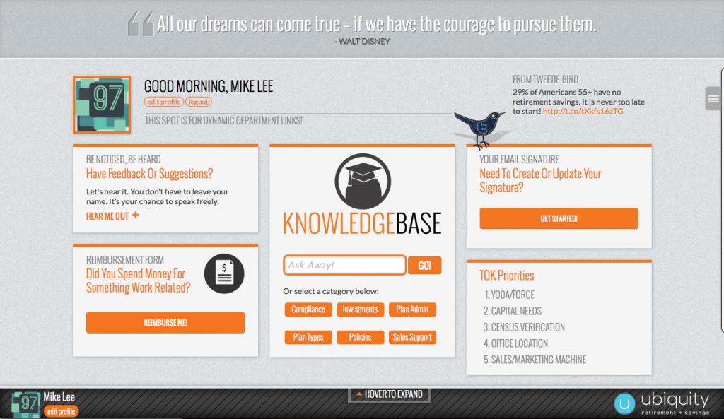intranet-dashboard